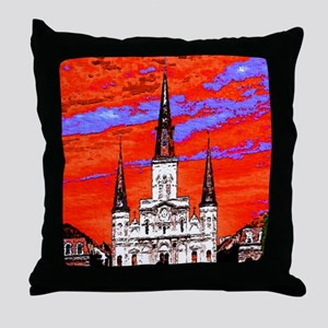 CathedralFauve1ab Throw Pillow