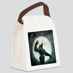 Howl-SmallPoster Canvas Lunch Bag