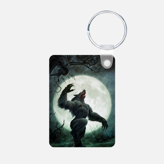 Howl-SmallPoster Aluminum Photo Keychain