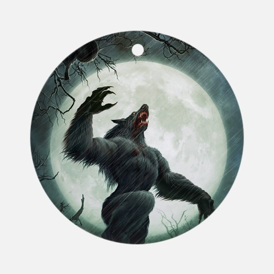 Howl-SmallPoster Round Ornament