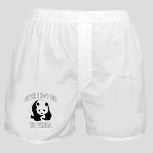 NEVER SAY NO TO PANDA Boxer Shorts