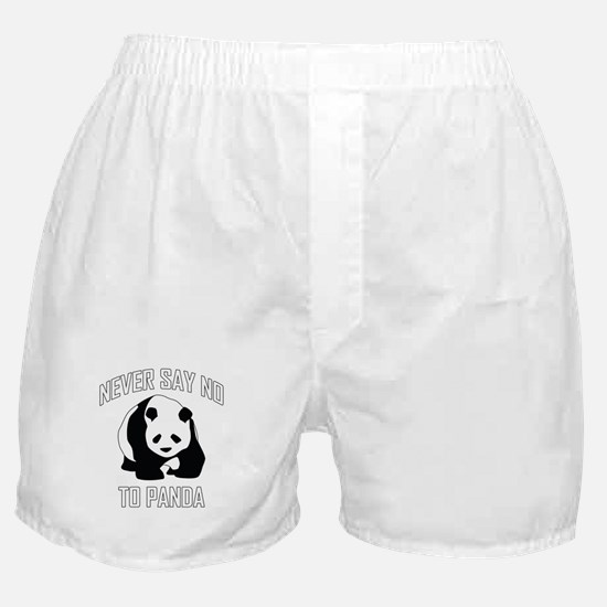 NEVER SAY NO TO PANDA Boxer Shorts