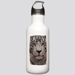 (16) White Tiger 4 Stainless Water Bottle 1.0L