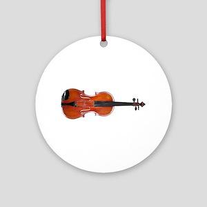 Viola Design 1 Ornament (Round)