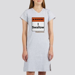Warning - I Swallow T-Shirt