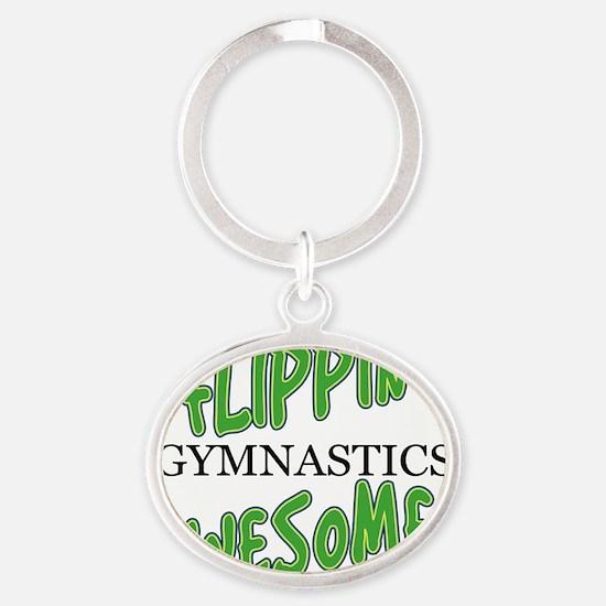 Flipawe Oval Keychain