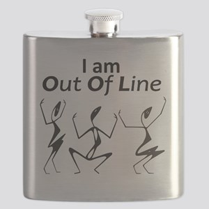 I am Out Of Line Flask