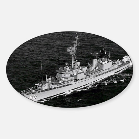 jpkennedyjr framed panel print Sticker (Oval)