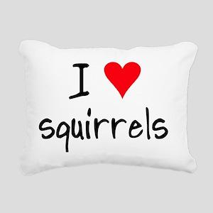 iheartsquirrels Rectangular Canvas Pillow