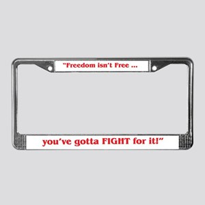 A-10 (MTNS) License Plate Frame