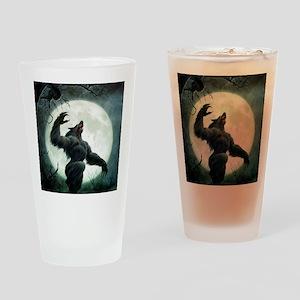 Howl-Tshirt Drinking Glass