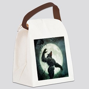 Howl-Tshirt Canvas Lunch Bag