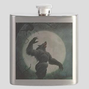Howl-Tshirt Flask