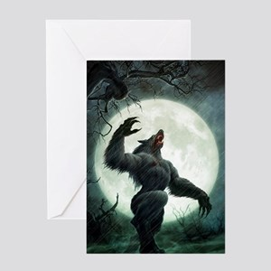 Howl-Tshirt Greeting Card