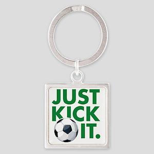 KickIt1B Square Keychain