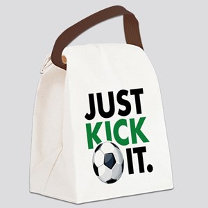 KickIt1C Canvas Lunch Bag