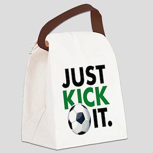 KickIt1C Canvas Lunch Bag