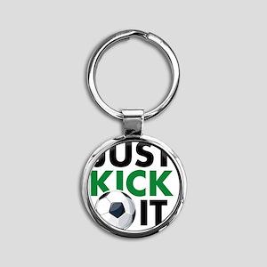 KickIt1C Round Keychain