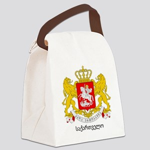 Georgia Greater Coat of Arms Canvas Lunch Bag