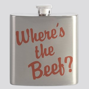 Where's The Beef? Flask