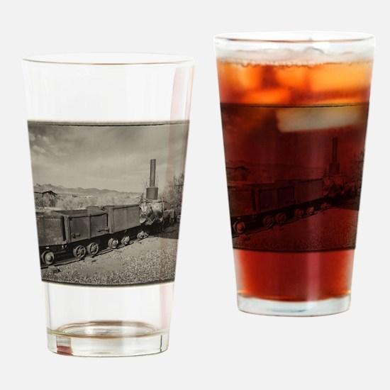 Mine Train 2 Drinking Glass