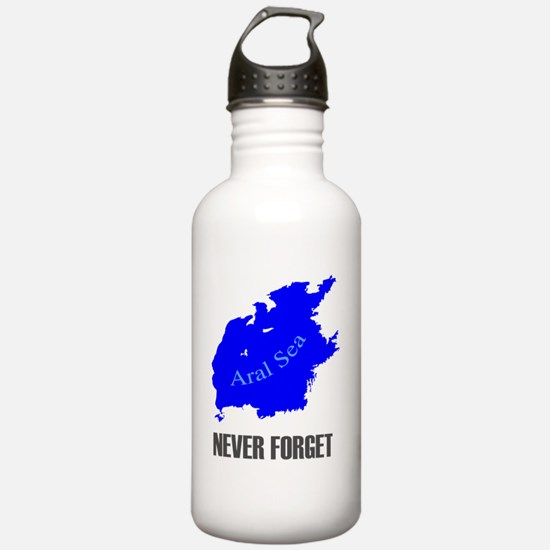 Never Forget Aral Sea- Water Bottle