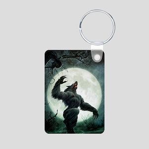 Howl-Postcard Aluminum Photo Keychain