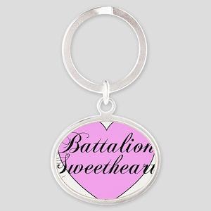 battsweet Oval Keychain