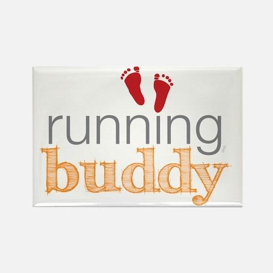 running buddy babyR Rectangle Magnet