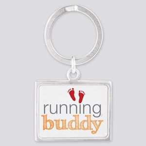 running buddy babyR Landscape Keychain