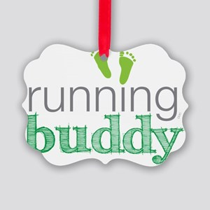 running buddy babyG Picture Ornament
