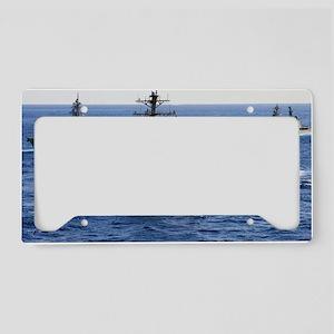 jsmccain ddg56 framed panel p License Plate Holder