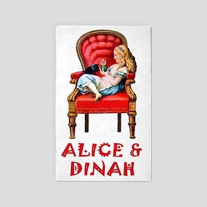 ALICE  DINAH Clearx 3'x5' Area Rug