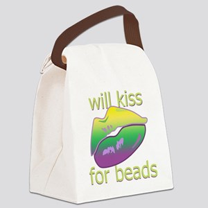 KissForBeadsNtr Canvas Lunch Bag