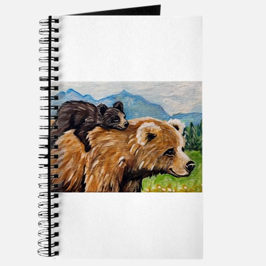 Cute Momma and cub Journal