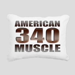 american muscle 340 Rectangular Canvas Pillow