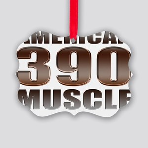 american muscle 390 Picture Ornament