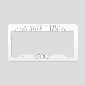 Abraham Lincoln Elementary Wh License Plate Holder