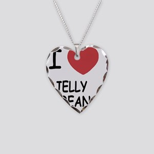 JELLY_BEAN Necklace Heart Charm