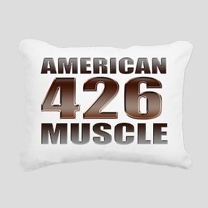 american muscle 426 Rectangular Canvas Pillow