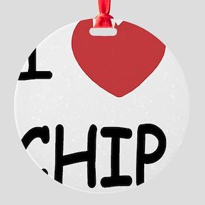 CHIP Round Ornament