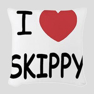 SKIPPY Woven Throw Pillow