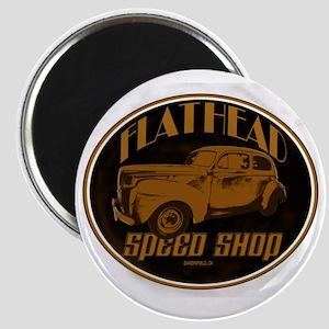 flathead speed shop Magnet