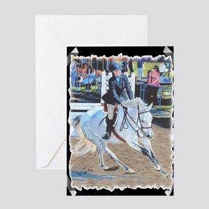 horseshow_tape Greeting Card