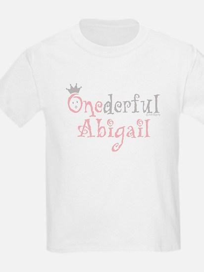 Onederful Abigail (2) Kids T-Shirt