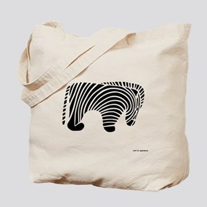 African Zebra Tote Bag