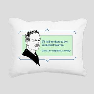 Eternity Rectangular Canvas Pillow