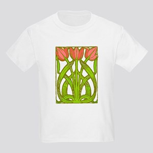 Art Nouveau Tulips -- Kids T-Shirt