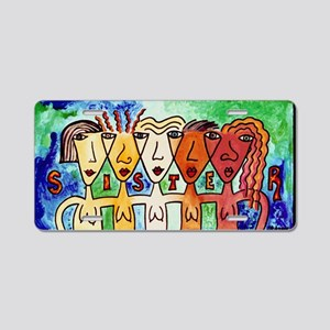 Sisters Aluminum License Plate