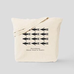 Savasana Dead Mans Party Tote Bag